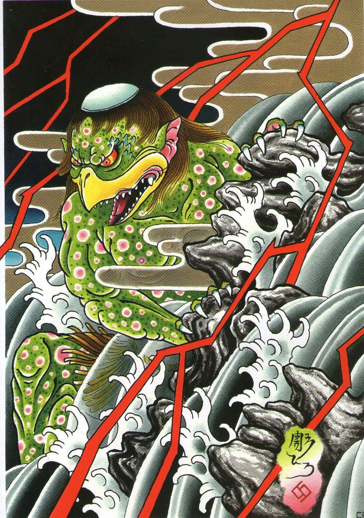 955 best kappa images on pinterest kappa japanese art and demons. Black Bedroom Furniture Sets. Home Design Ideas