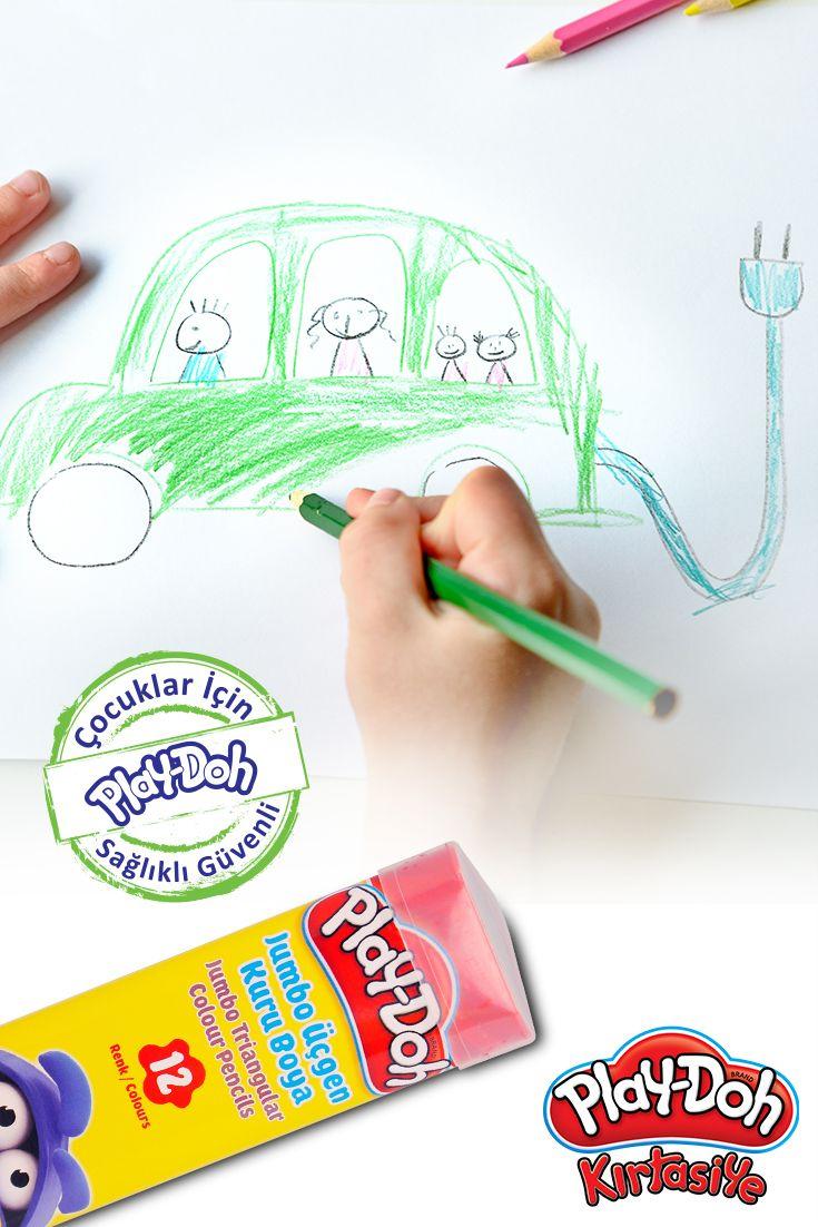 Elektrikli arabamız!  #playdohkirtasiye #playdoh #playdohstationery #stationery #kirtasiye #kuruboya #colourpencils #playdohkuruboya #playdohcolourpencils #penscils #colour #color #kids #çocuk #paint #painting #okul #school #elektrikliaraba #araba #electriccar #car #draw #kidsdrawing #kidsdraw
