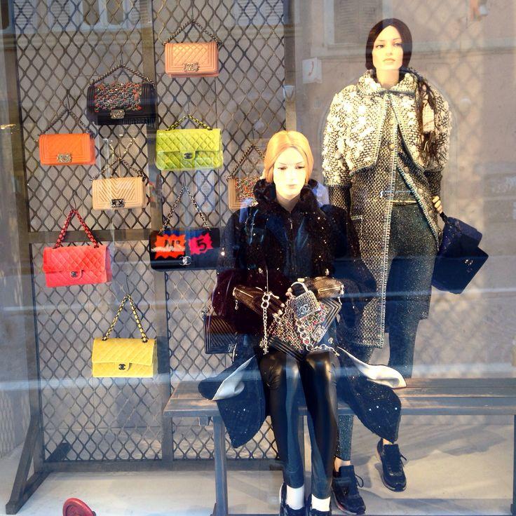#Window#Chanel#Roma#Store