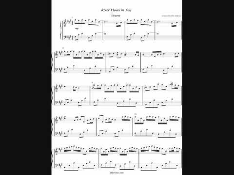 River Flows in You by Yiruma - Piano Cover + Sheet Music