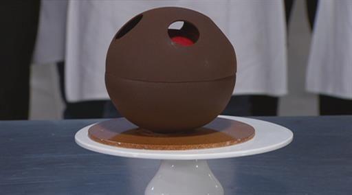 Black Forest gelato cake. Masterchef is passive-addictive to watch. Dessert challenge are my fave