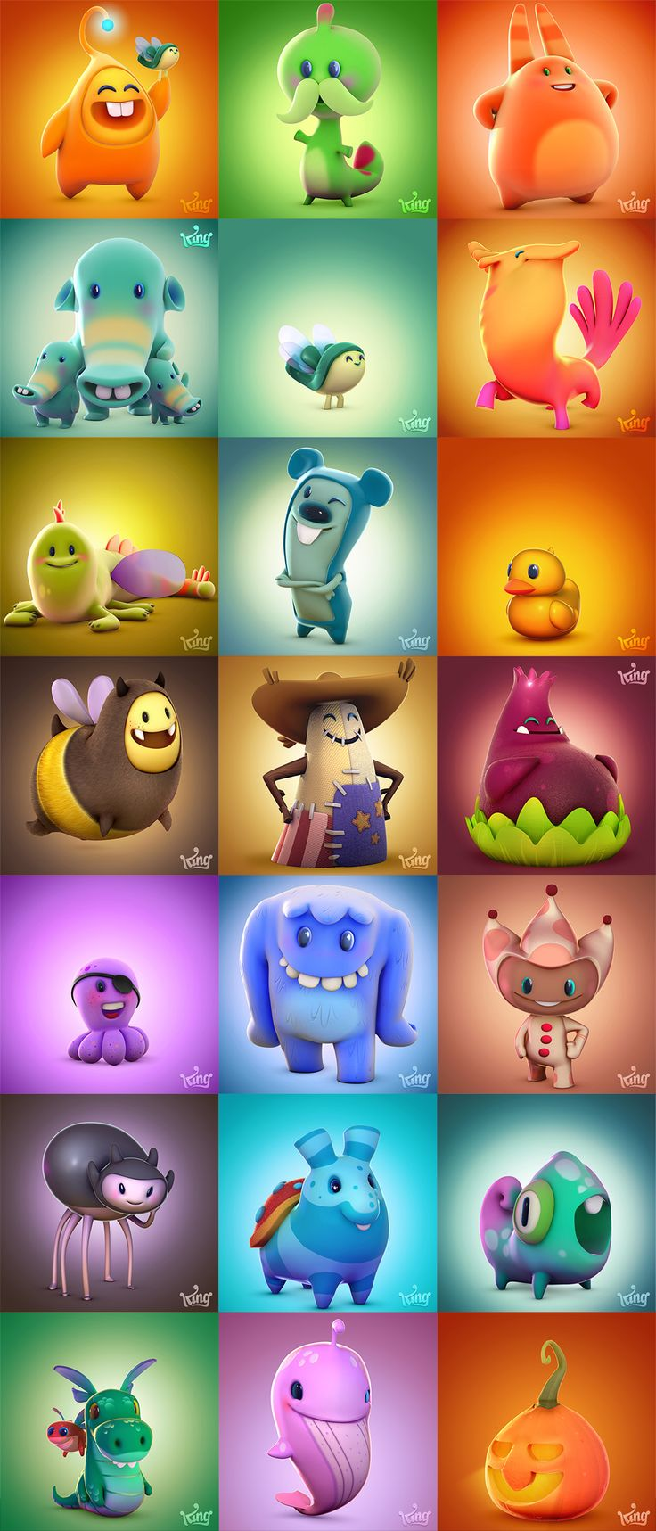 Diamond Digger Saga Characters on Behance