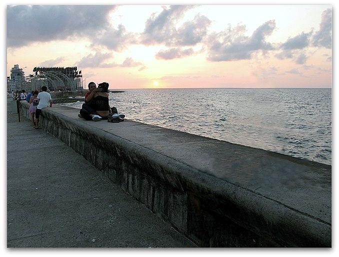 El Malecón, lugar para amar y enamorarse