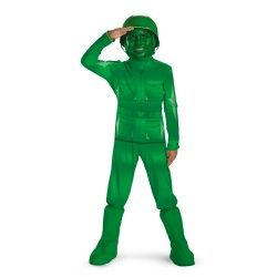 Green Army Men Child Toy Story Halloween Costume