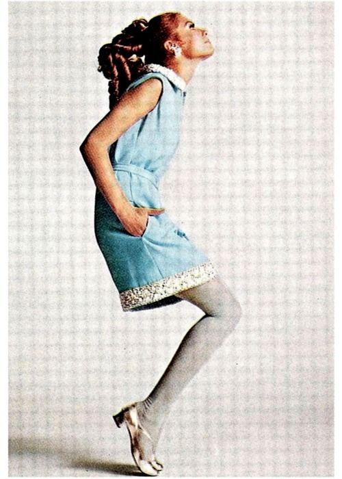 A 1967 Malcolm Starr dress.