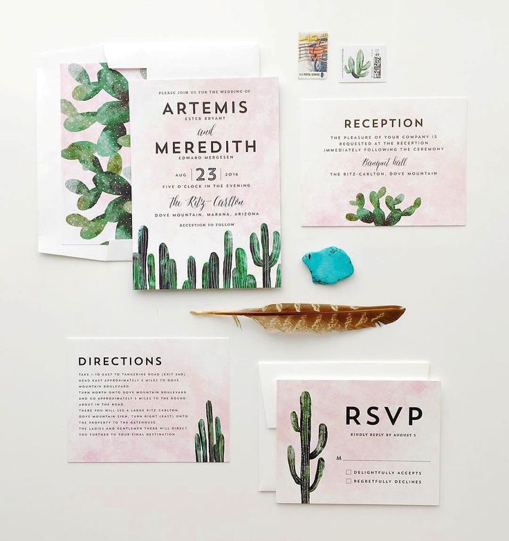 """""""Make it a hot romance. Get on the desert vibe with south western inspired wedding stationery from #Minted.  by @tarynwilliford. Design by @CassLoh. Shop…"""""""