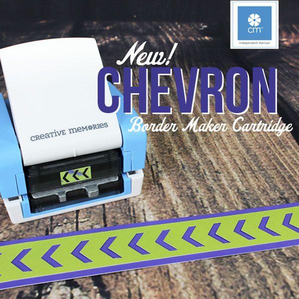 Chevron Border Maker Cartridge http://www.creativememories.com/user/joanflannery