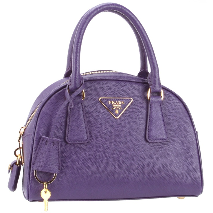 Prada BL0854 Handbag - Purple