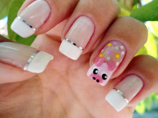 PIG #nail #nails #nailart