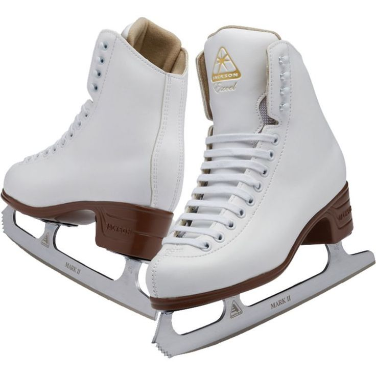Jackson Ultima Toddler Excel Figure Skates, White