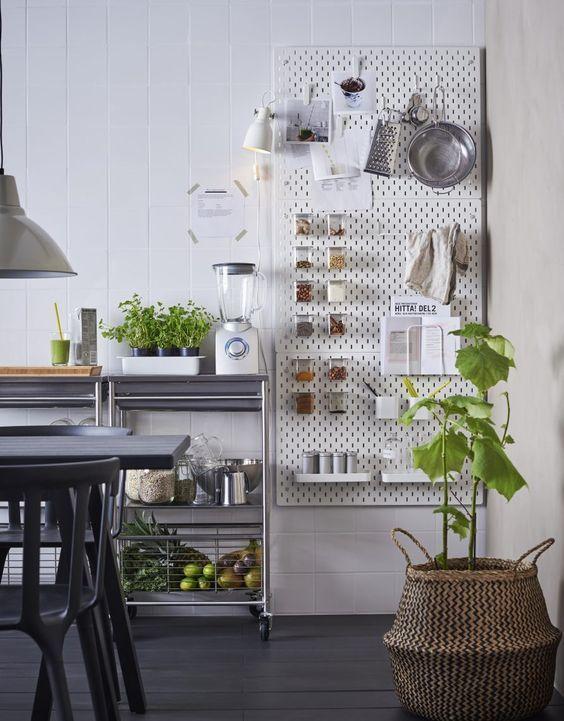 New Ikea must have: the SKÅDIS pegboard