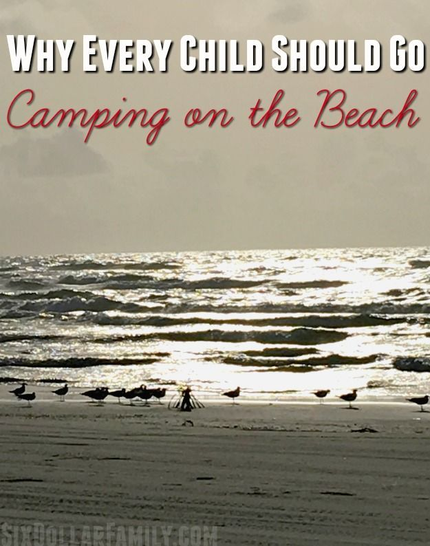 Beach Camping Tips - Why Every Kid Should Go Camping on the Beach