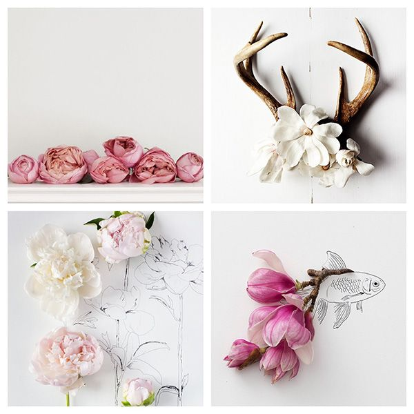 It?s easy to see why we love KariHerer so much (can you say peonies?) .