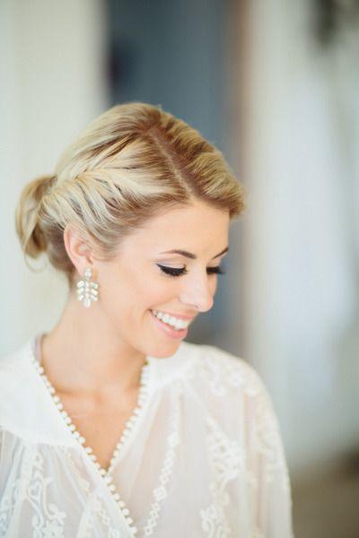 Pretty bridal makeup