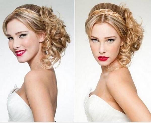 Top 7 Wedding Hairstyle Trend 2015 2016 For Bride Girls