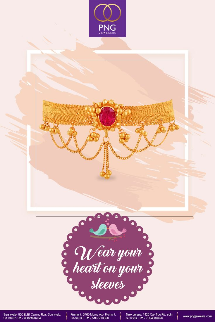 Don T Let Go Of This Intricate Armlet Add It To Your Collection Today Head To Our Sto Gold Jewelry Indian Wedding Jewellery Collection 1 Gram Gold Jewellery