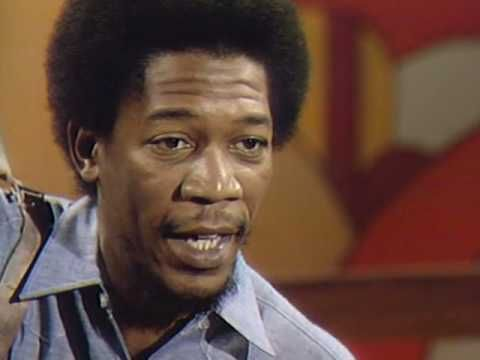 "From 1971, Morgan Freeman sings a melancholy song by Joe Raposo & Elaine Laron.    It's really impressive how a song teaching the ""sh"" sound from a children's show can be so moving and full of emotion. I doubt if there will ever be another educational program with such a unique mix of talent, both behind and in front of the camera."