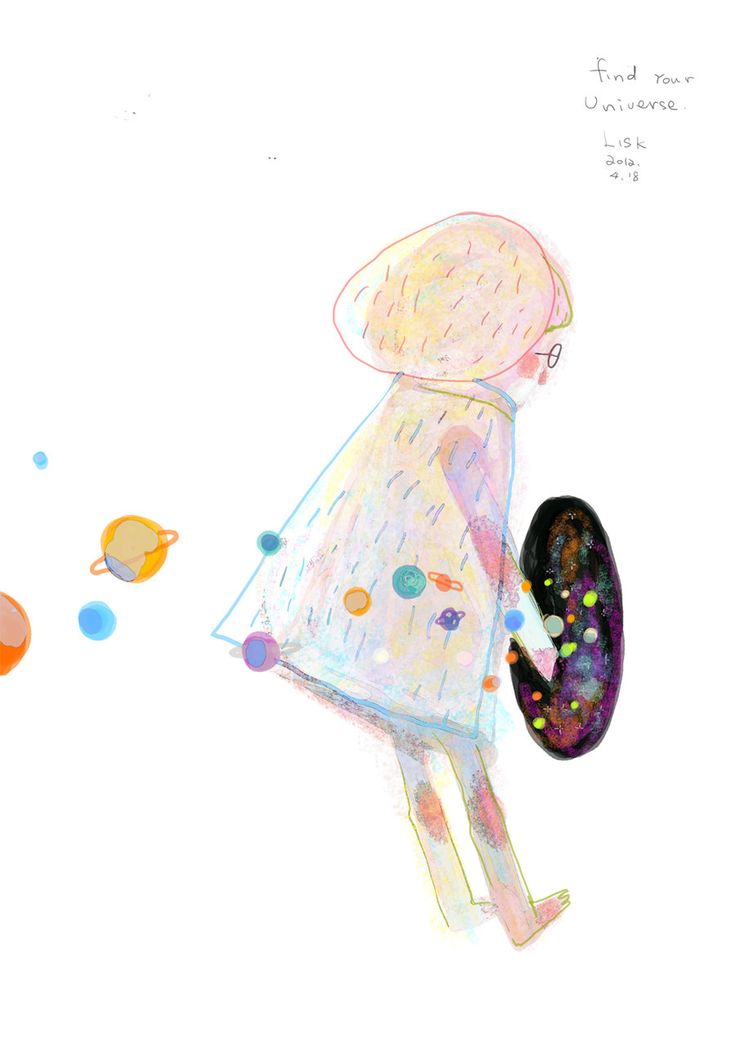 Illustrated Ladies (garabating: find your universe by ~AnnaLisk)