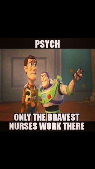 "RN charge on psych and second job as RN weekend supervisor at a nursing home. .just can't ""give up"" my geriatrics! :)"