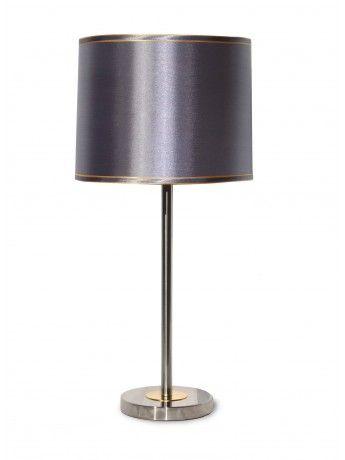 Hettie Silver Table Lamp 70cm x 38cm