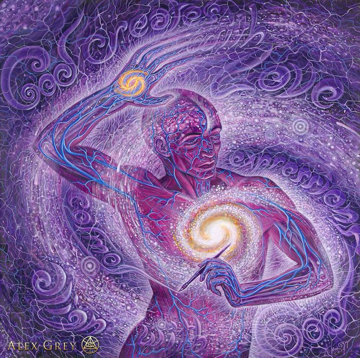 CoSMOS, Alex Grey  More Alex Grey ~ http://artblanketsonline.com/collections/surreal-artwork-by-alex-grey-meditation-art-blankets