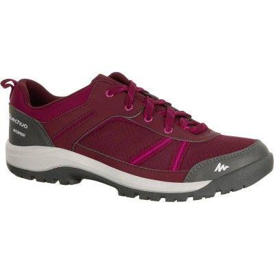 35 - Hiking Women - NH300 WP Women's Boots - Pink QUECHUA - Shoes