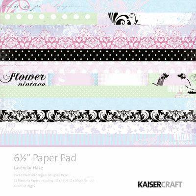 Lavendar Haze Paper Pad 6.5