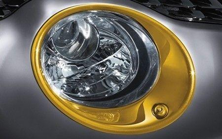 Nissan New Juke Yellow (BEAV) Headlamp Finishers w/HL Washer - KE610BV280YW
