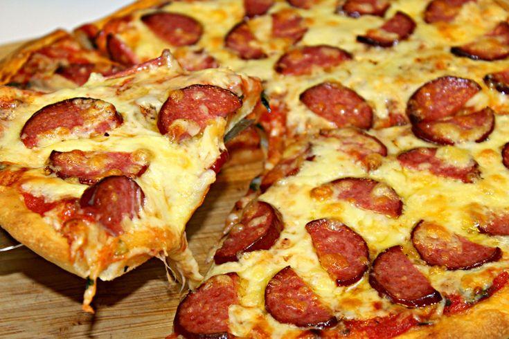 Reteta pizza salami Adygio Kitchen  #adygio #pizza