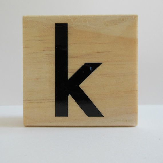 READY TO SHIP  Letter k Rubber Stamp  Monogram by Whimsiesbykaren (Craft Supplies & Tools, Scrapbooking Supplies, Stamps & Seals, Stamps, Individual Stamps, scrapbooking, card making, invitations, note cards, tags, rubber stamp, ready to ship, initial stamp, letter k stamp, alphabet letter k, monogram stamp)