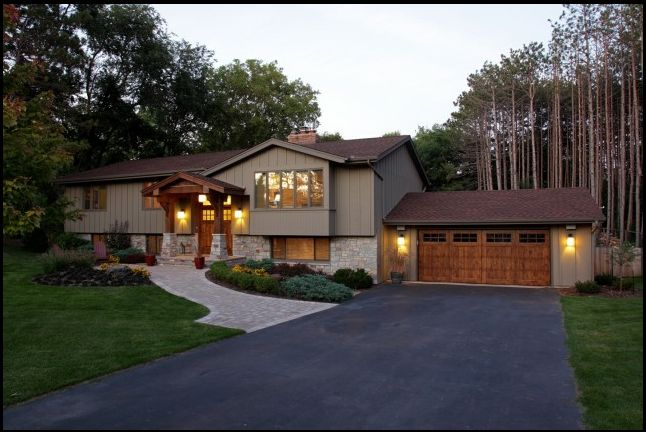By knight construction design chanhassen minnesota for Redesign front of house