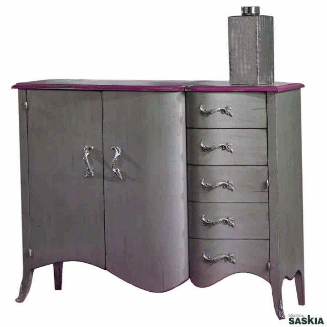 Artesanato Russo Bonecas ~ Las 25+ mejores ideas sobre Aparador gris en Pinterest Muebles grises, Muebles pintados de