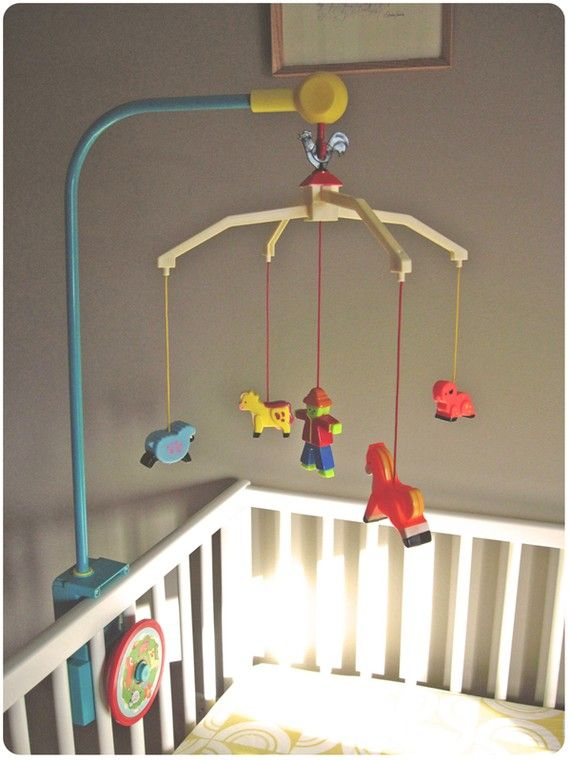 1964 Vintage Fisher Price Crib Mobile Amazing Condition Fisher Price Vintage And