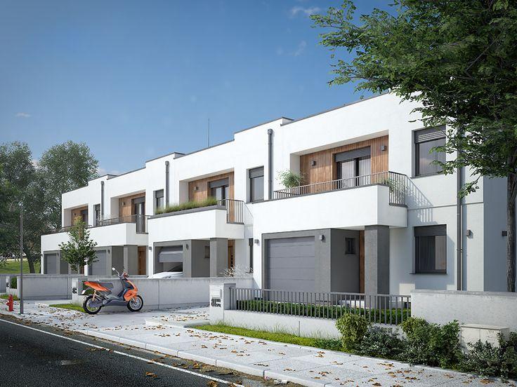 Projekt Dąb to nowość z kategorii projekty domów w zabudowie szeregowej. Pełna prezentacja projektu dostępna jest na stronie: https://www.domywstylu.pl/projekt-domu-dab_a.php. #projekty #projekt #dom #domy #projektygotowe #zabudowa szeregowa #szeregowki #domywstylu #mtmstyl #home #houses #architektura #architecture #design #housedesign #newdesign #moderndesign #dab #dąb