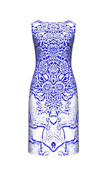 Blue Pattern Designed at constrvct.com