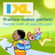 Practice makes perfect. Practice math at IXL.com