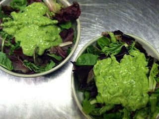 And What I Ate: Creamy Avocado Dressing - No Olive Oil or Dairy!