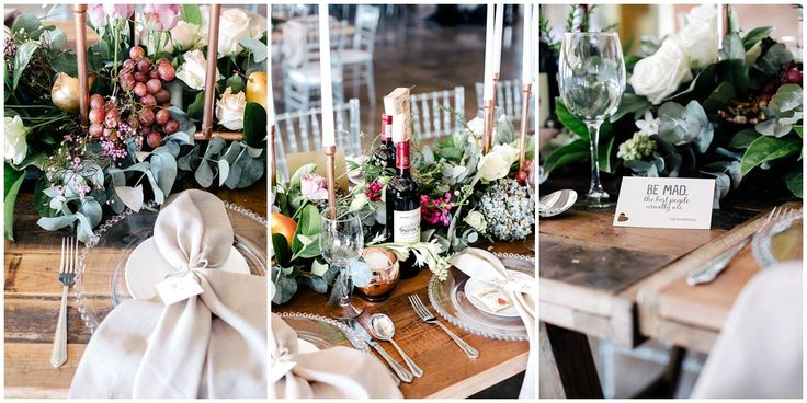 www.vanillaphotography.co.za | Durban wedding photographer, Durban wedding venue, Crystal Barn wedding venue, rustic wedding venue, boho venue, reception decor, table decor, greenery, fruit, candles, copper accent, quotes.