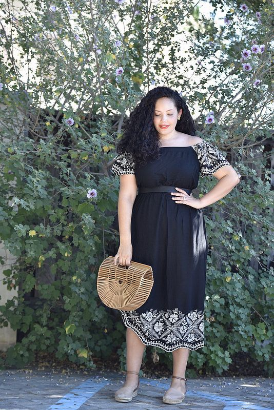 6adda96f5623 The Perfect End-of-Summer Dress via  GirlWithCurves  curvystyle   curvyfashion  dress  ootd  whatiwore  GirlWithCurves  GWCstyle