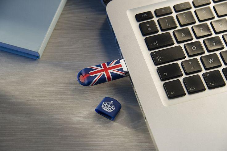 Clé USB 16 Go MAPPY UK Ambiance - KeyOuest http://www.keyouest-mobility.com/produits/cle-usb-16-gb-uk-keyouest/