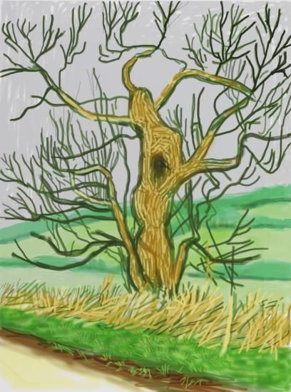 Annely Juda Fine Art   Exhibitions   David Hockney: The Arrival of Spring (2014)
