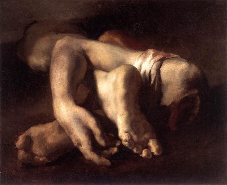 Theodore Gericault, 'Study of Feet and Hands' 1818-19