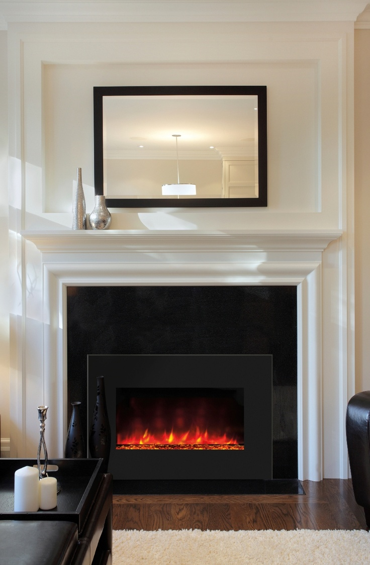 14 best images about electric fireplace inserts fireboxes on pinterest plugs electric - Fireplace mantel designs in simple and sophisticated style ...