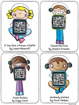 QR Code Listening Center Freebie