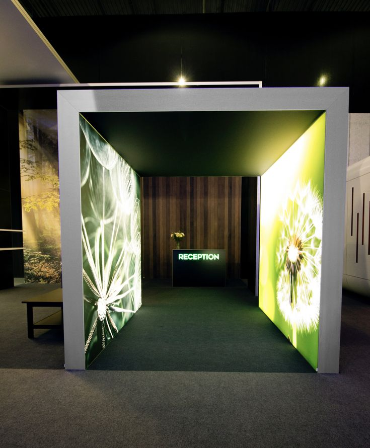 Exhibition Booth Lighting : Best images about custom backlit trade show exhibit