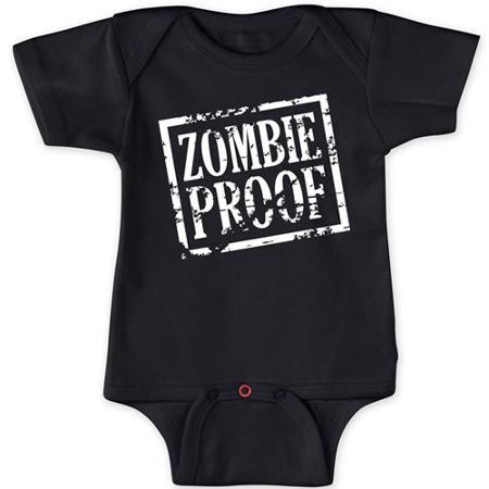 zombie  proof onesies