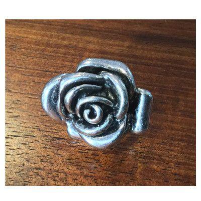 Rose flower ring - only 1 left