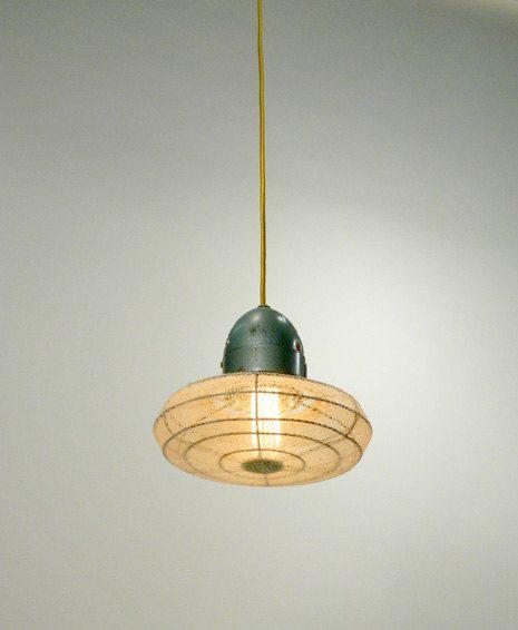 Small Fan Pendant Lamp
