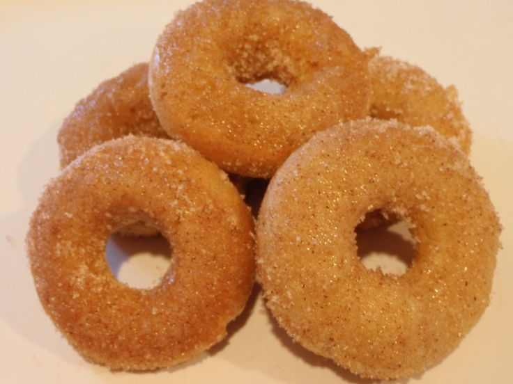 Amazing Maple Cinnamon Baked Mini Donuts - only 2 WW Points plus