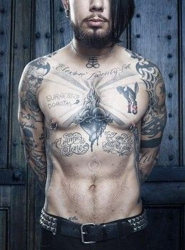 Dave Navarro's Tattoos                                                       …